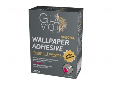 Glamour Effect Wallpaper Adhesive